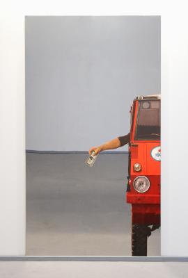 Michelangelo pistoletto a bergamo alla gamec di giovanni - Serigrafia su specchio ...